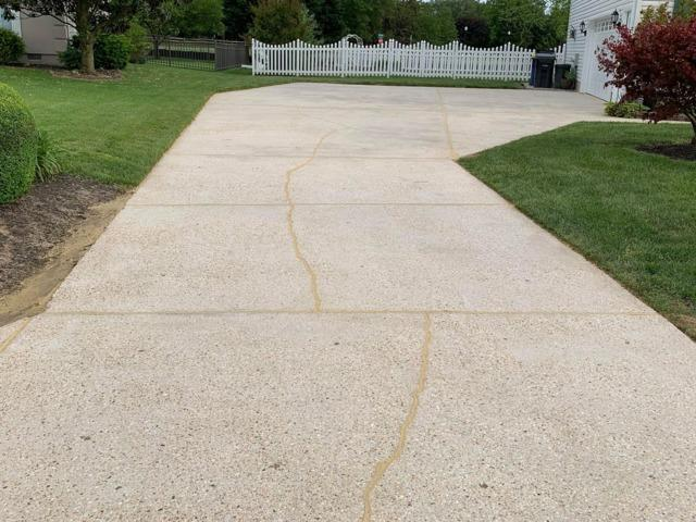 Making a Safer Driveway and Walkway in Camden Wyoming, DE