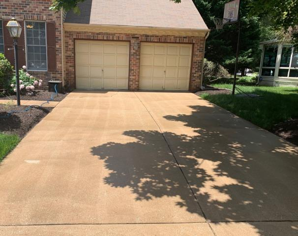 Leveling and Sealing in Columbia, MD - Before Photo
