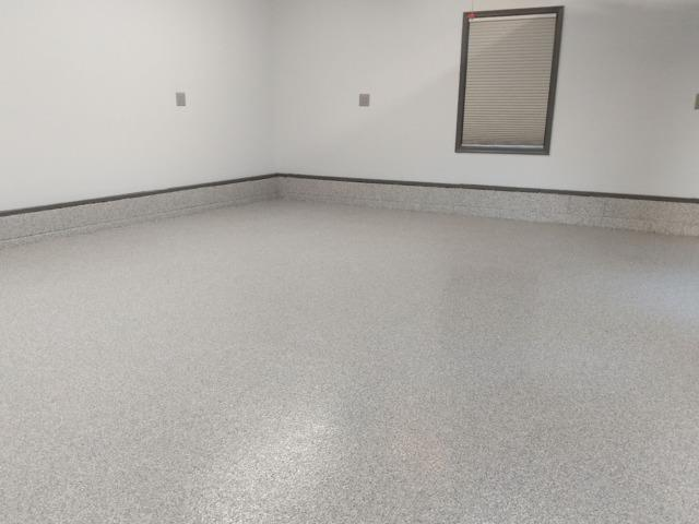 PolyLevel and Garage Floor Coating in Middle River, MD - After Photo