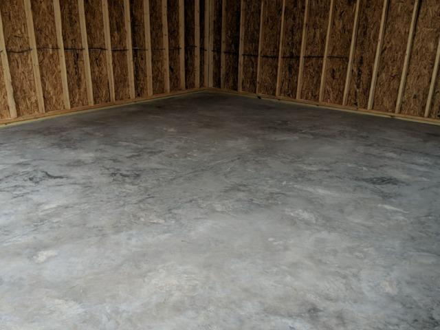 Concrete Floor Coating in Bridgeville, DE - Before Photo