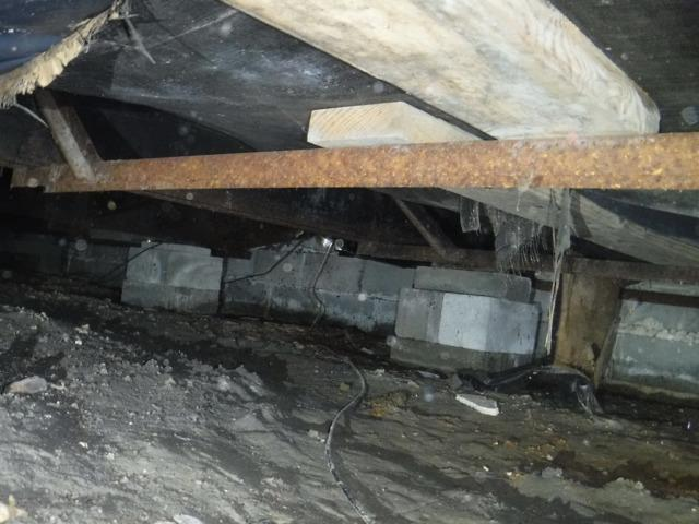 Helping a Homeowner's Crawlspace in Hartly, Delaware