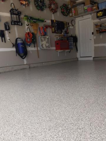 Concrete Floor Coating in Bridgeville, DE - After Photo