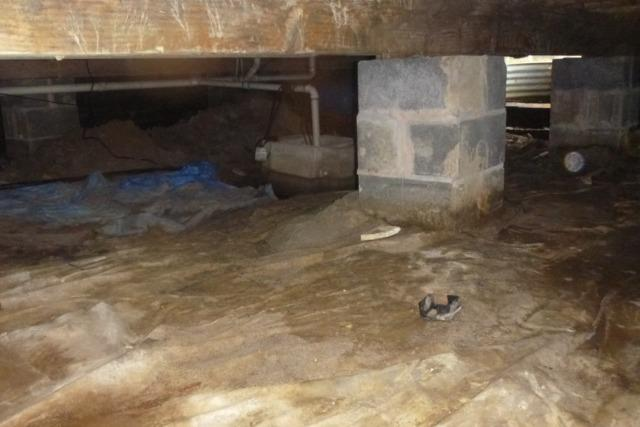 A Cleaner, Dry Crawlspace in Parsonsburg, MD