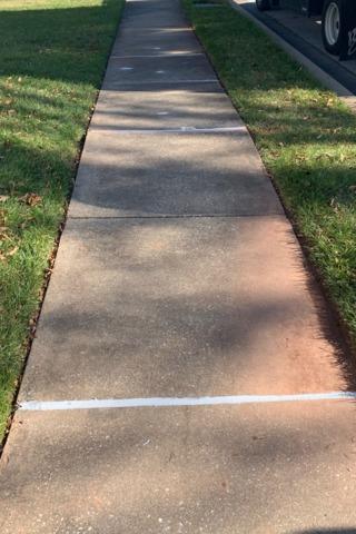 Level Sidewalk in Owings Mills.