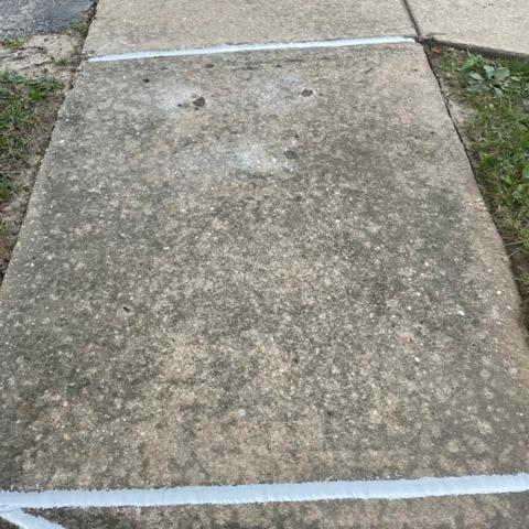 Making a Sidewalk Safer in Edgewood, MD