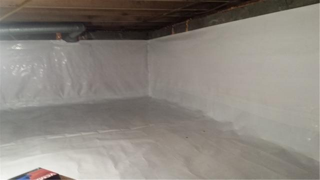 Crawl Space Damage in Ewell, MD