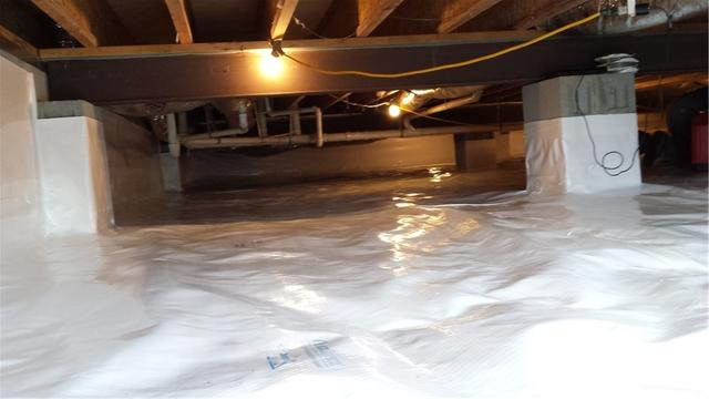 Crawl Space Waterproofing in Showell, MD
