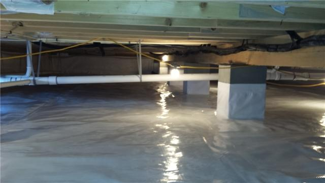 Crawl Space Encapsulation In Taylors Island, MD