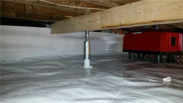 Crawl Space Encapsulation in Port Deposit, MD