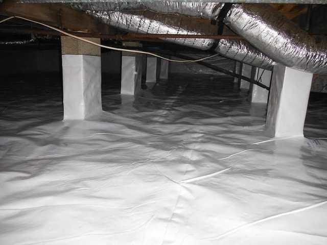Wet & Nasty Crawl Space in Ocean City, MD