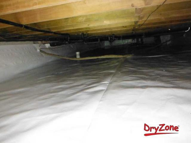 Nasty and wet crawl space in Lewes, DE