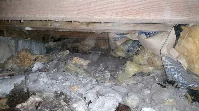 Repairing the Crawl Space in Quantico, MD