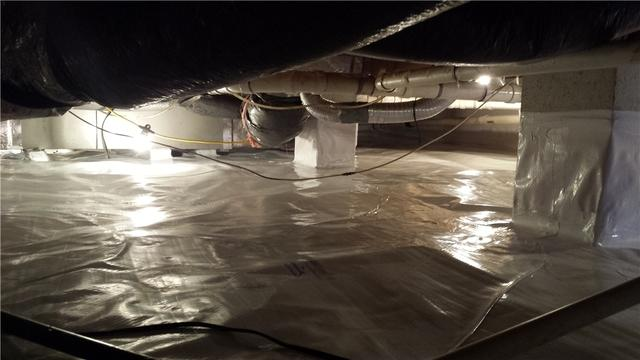 Encapsulating the Crawl Space in Toddville, MD