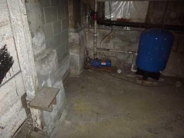 Millington, MD Basement SumperSump Pump - Before Photo