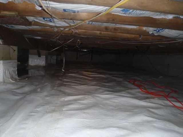 Ewell, MD Crawl Space Insulation Problem