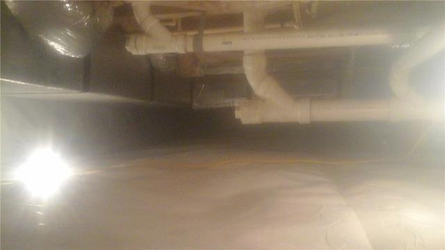 Dirty Crawlspace in Willards MD