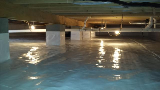 Crawl Space Encapsulation in Wingate, MD