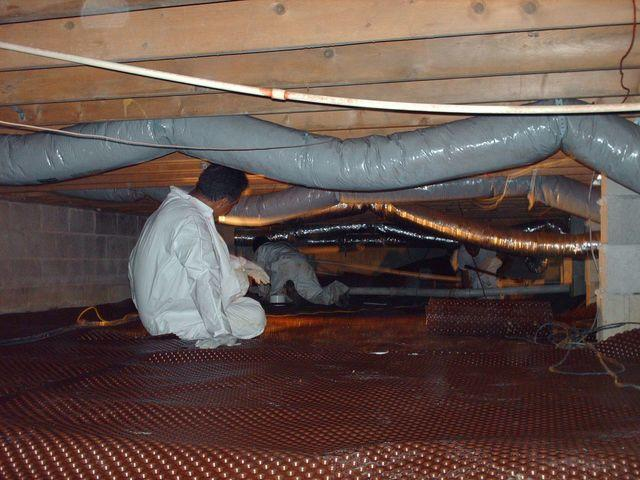 Flooding Crawlspace in Seaford, Delaware