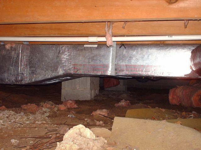 Crawl Space in Greenwood, Delaware