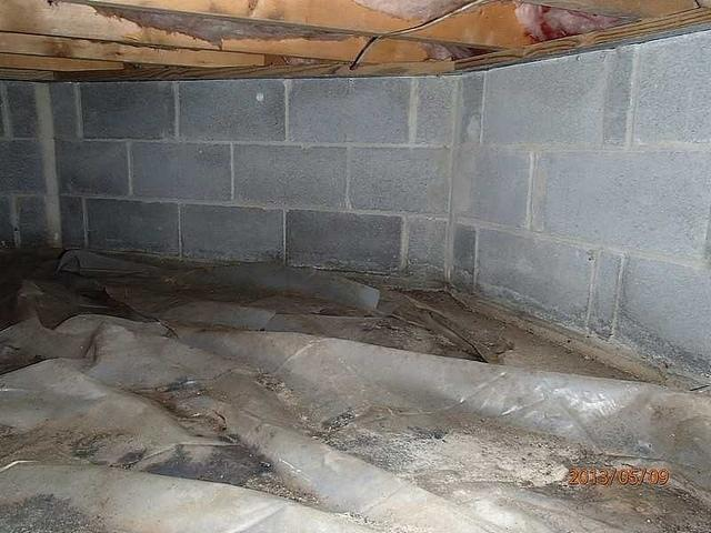 Bishopville, MD Crawl Space Vapor Barrier Replacement