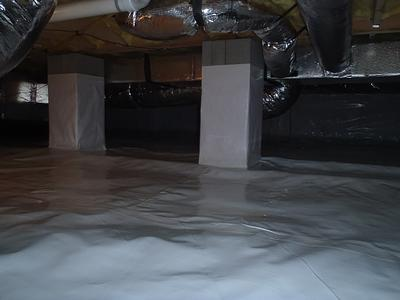 Bridgeville, DE homeowner is tired of the nasty smells in the crawl space
