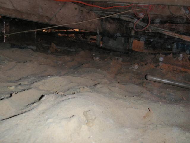Crawl space in Harrington, DE