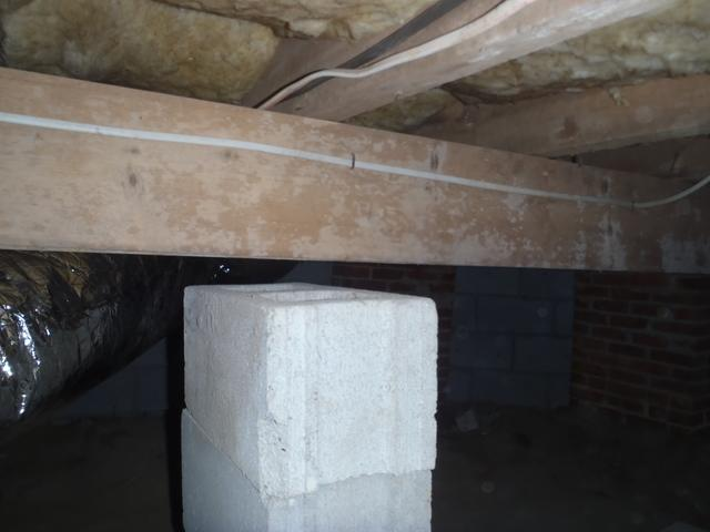 Smartjacks replace bad concrete supports in Georgetown, DE