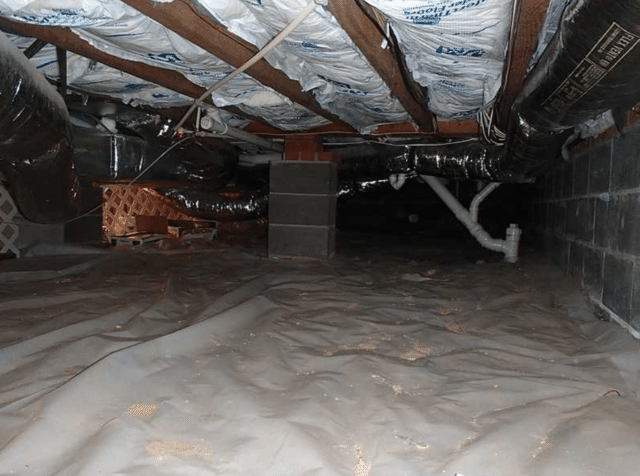Crawl Space Stevensville, MD - Before Photo