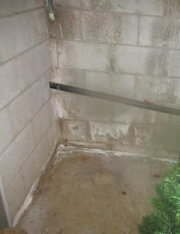 Dubois, IN TripleSafe Sump Pump Installation - Before Photo
