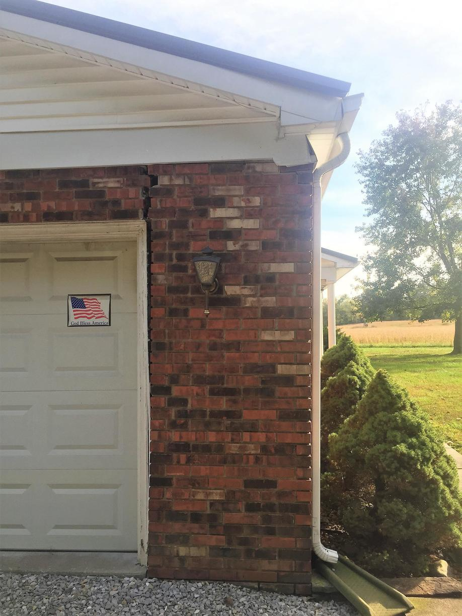 Foundation Settlement in Robards, KY - Before Photo