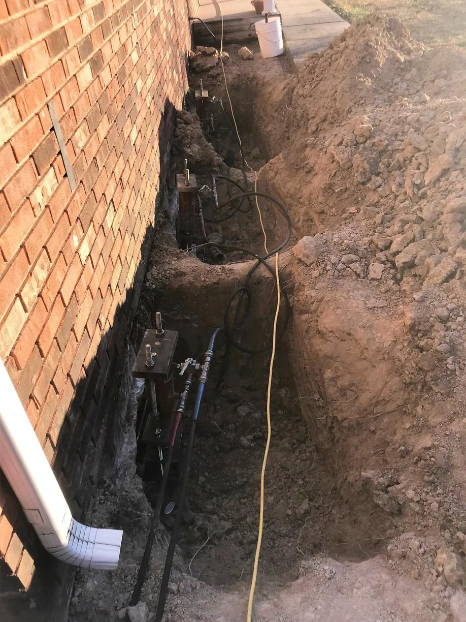Foundation Settlement in Robards, KY - After Photo