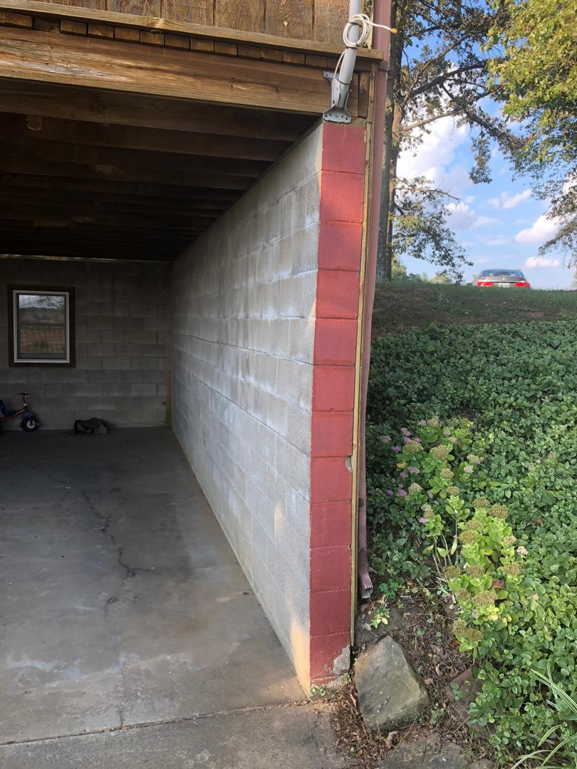 Bowing Walls in Robards, KY - Before Photo