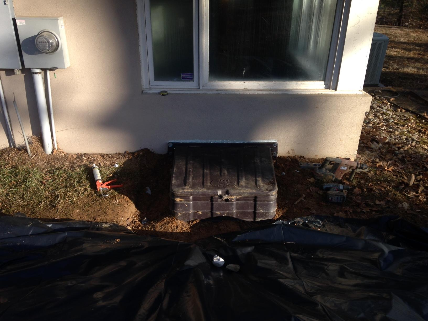 Crawlspace Entrance in Central City, KY - After Photo