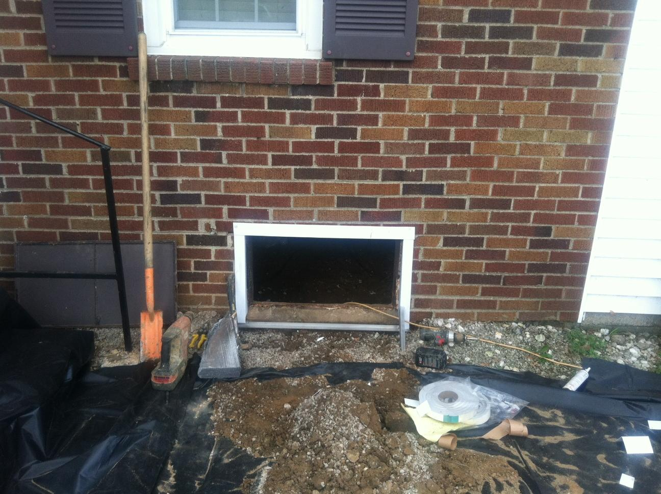 Covering Vents in Your Shepherdsville, KY Crawlspace - Before Photo