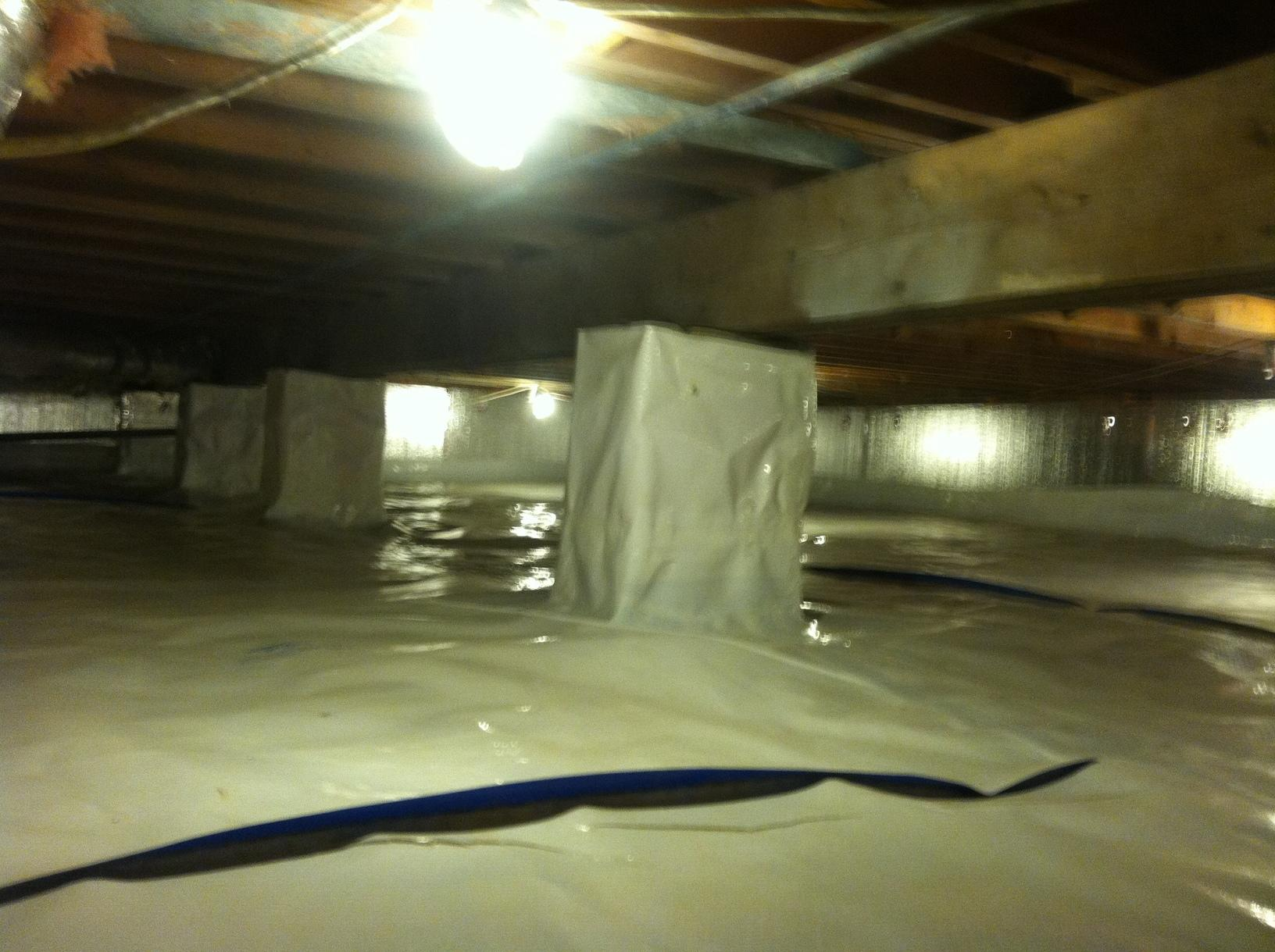 Jasper, IN Crawlspace Encapsulation - After Photo