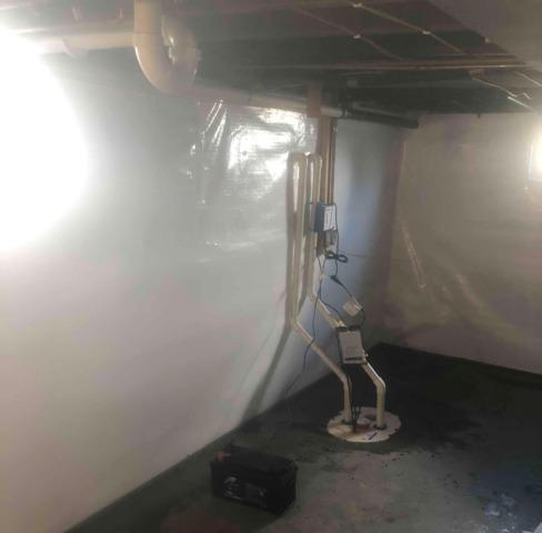 Water Intrusion in Basement in Huntingburg, IN