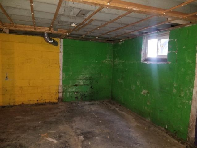Total Basement Finishing in Oakland City, IN - Before Photo