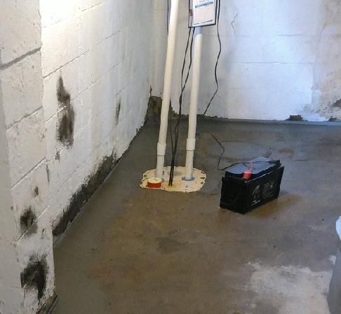 Sump Pump Transformation in Cynthiana, IN
