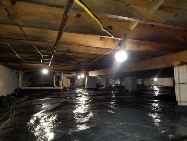 Brandenburg, KY Crawl Space Turned Healthy