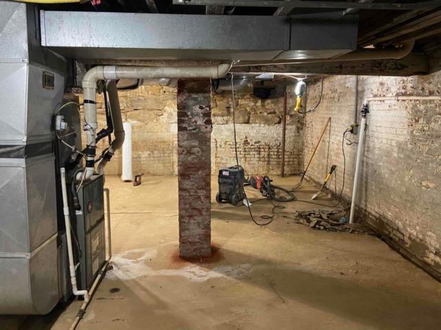 Basement Waterproofing Transformation in Utica, KY