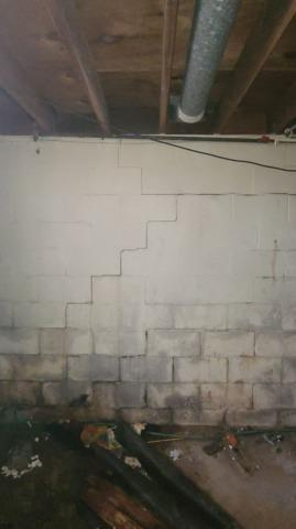 Permanent Wall Stabilization in New Harmony, IN