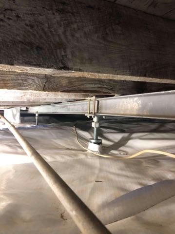 Crawl Space Jack Posts Repair in Lewisport, KY - After Photo