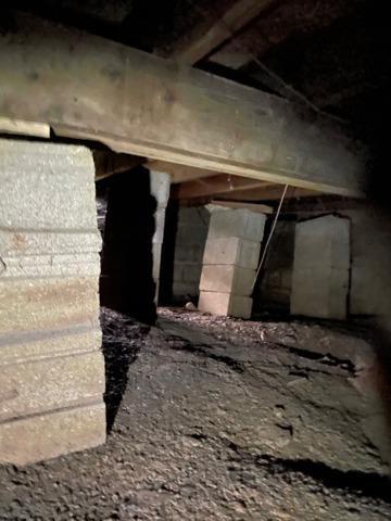 Stabilizing Crawl Space Floor in Owensville, IN