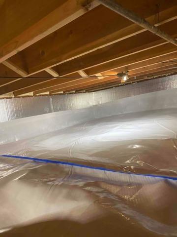 New Vapor Barrier in Branchville, IN