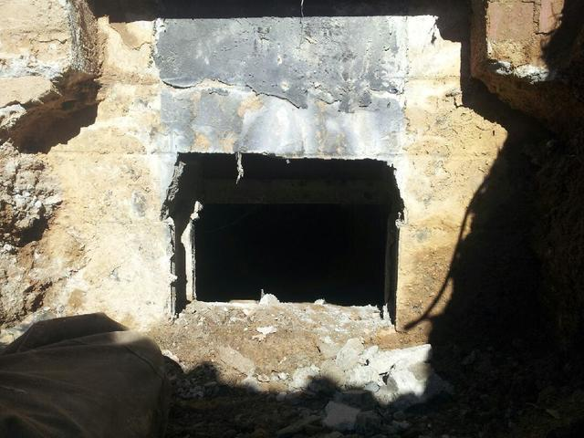 Crawlspace Entrance in Central City, KY