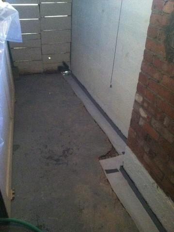 Evansville, IN Homeowner Gets Custom Waterproofing System Installed