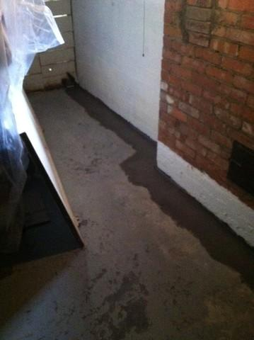 Evansville, IN Homeowner Gets Custom Waterproofing System Installed