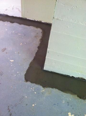 Perimeter Waterproofing System Installed in Owensboro, KY - After Photo