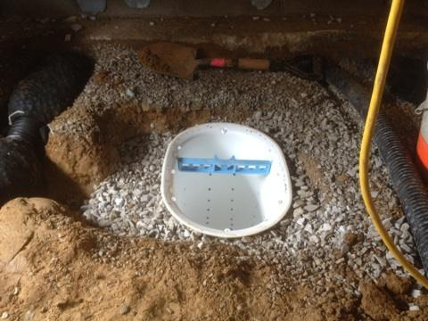 Newburgh, IN Crawlspace Sump Pump Installation
