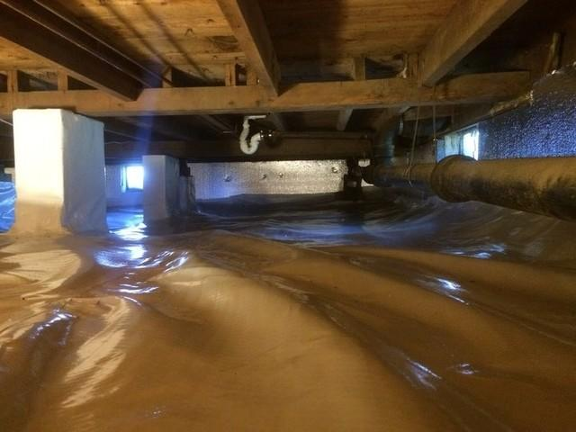 Crawl Space Repair in Greenville, Rhode Island